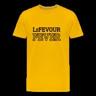 T-Shirts ~ Men's Premium T-Shirt ~ LeFevour Fever (Male)