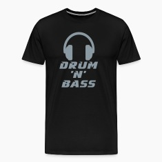 Drum 'n' Bass Music T-Shirts