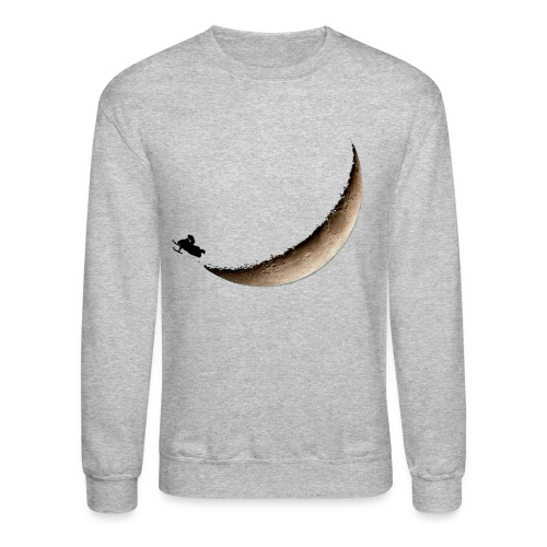 Infinite Winter Moon Jump Sweatshirt - Crewneck Sweatshirt