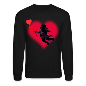 Valentine's Sweatshirt Cupid Love Shirt - Crewneck Sweatshirt