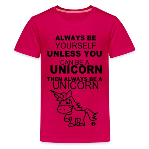 Girls Unicorn Shirt - Kids' Premium T-Shirt
