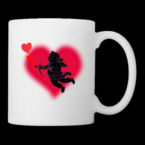 Valentine's Cup Cupid Love Coffee Cup Mug  - Coffee/Tea Mug