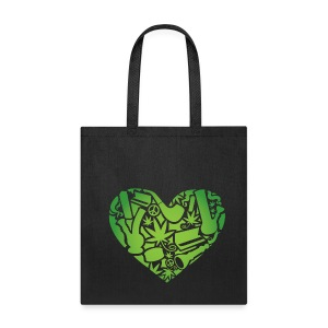 weed love tote bag - Tote Bag