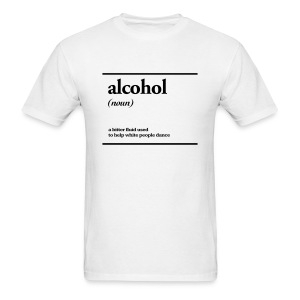 alcohol - Men's T-Shirt