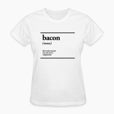 bacon Women's T-Shirts
