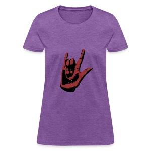ASL I Love You Woman's Shirt - Women's T-Shirt