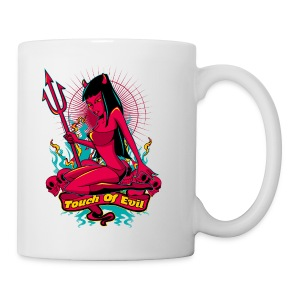 Devil Pin-Up Girl - Touch of evil - Coffee/Tea Mug