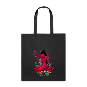 Devil Pin-Up Girl - Touch of evil - Tote Bag