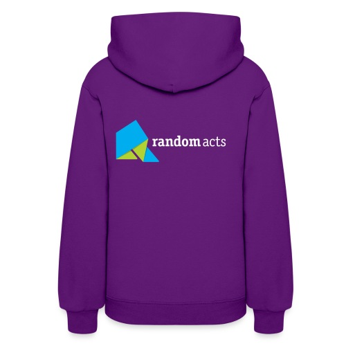 RA Women's Hooded Sweatshirt (light logo) - Women's Hoodie