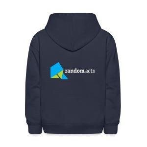 RA Kids' Hooded Sweatshirt (light logo) - Kids' Hoodie