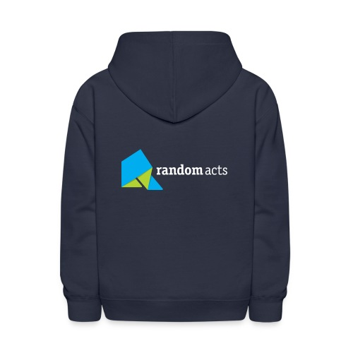 RA Kids' Hooded Sweatshirt (light logo) - Kids' Hoodie
