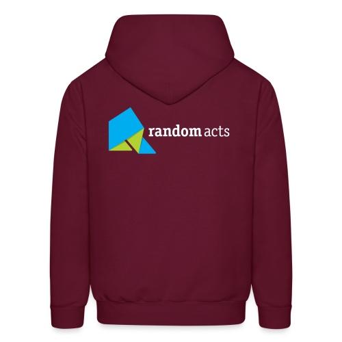 RA Men's Hooded Sweatshirt (light logo) - Men's Hoodie