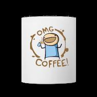 Mugs & Drinkware ~ Contrast Coffee Mug ~ OMG COFFEE! Mug