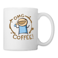 Mugs & Drinkware ~ Coffee/Tea Mug ~ OMG COFFEE! Mug
