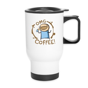 OMG COFFEE! Travel Mug - Travel Mug