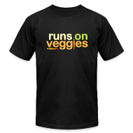 T-Shirts ~ Men's T-Shirt by American Apparel ~ Men's Short Sleeve Veggie T