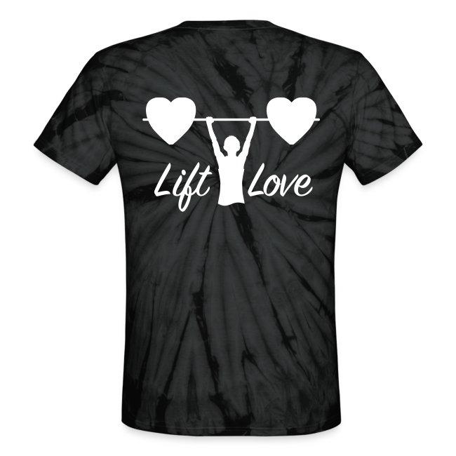Lift Love Tie-Dye BACK