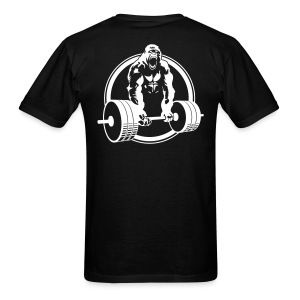 Gorilla Lifting Standard Tee BACK - Men's T-Shirt