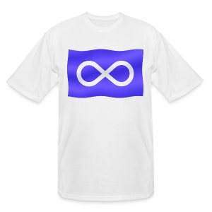 Metis Flag T-shirt Plus Size Metis Pride Shirts 3xl 4xl - Men's Tall T-Shirt