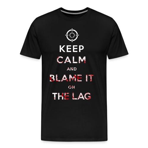 Blame it on Lag - Men's Premium T-Shirt