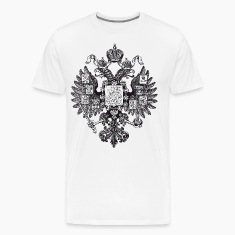 Gerb Rossii Old Coat of Arms of Russia Eagle Man D