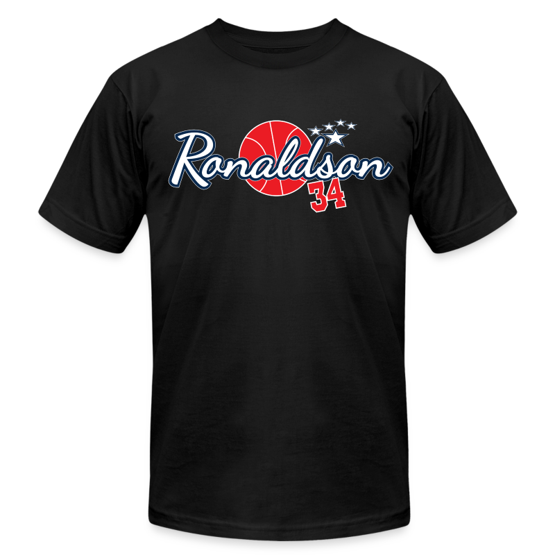 Tony Ronaldson - Men's T-Shirt by American Apparel
