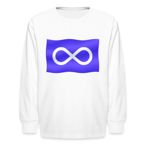 Kid's Metis Flag Shirt Metis Children's Long Sleeve Shirts - Kids' Long Sleeve T-Shirt