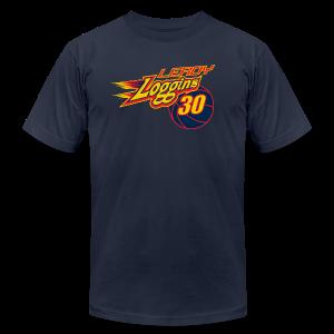 Leroy Loggins ball - Men's Fine Jersey T-Shirt