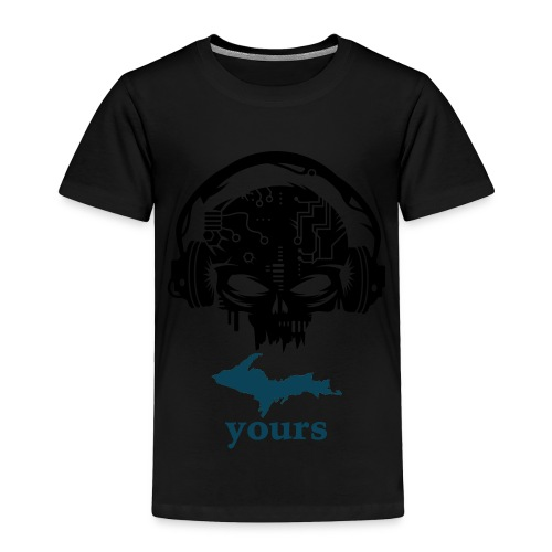 Beatbox Skele - Toddler Premium T-Shirt