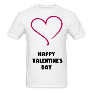 HAPPY VALENTINE'S DAY T-SHIRT - Men's T-Shirt