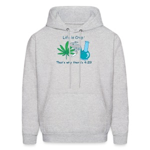 Thats why there is 420 - Mens Hooded Sweatshirt - Men's Hoodie