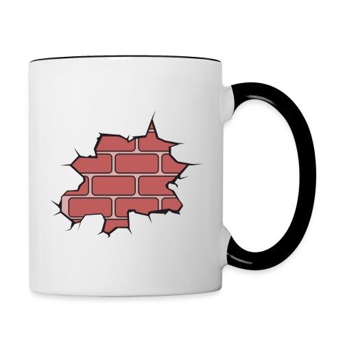 BFM Brick Wall Tea/Coffee Mug - Contrast Coffee Mug
