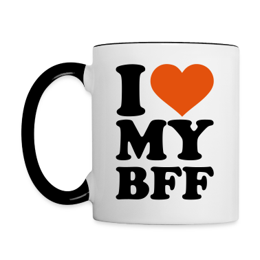 I love my best Friend forever bff Accessories