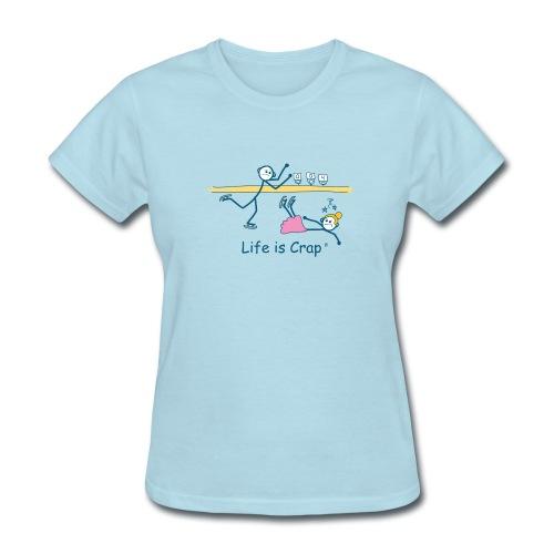 Figure Skate - Womens Classic T-Shirt - Women's T-Shirt