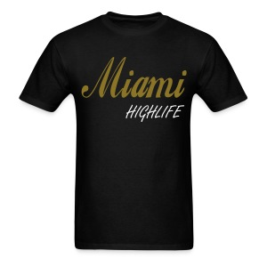 Guys Old School Miami Shirt - Men's T-Shirt