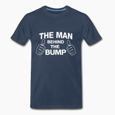 The Man Behind the Bump T-Shirts
