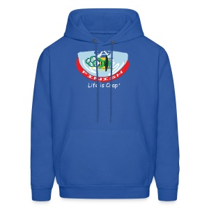 Bobsled - Mens Hooded Sweatshirt - Men's Hoodie