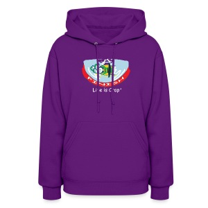 Bobsled - Womens Hooded Sweatshirt - Women's Hoodie
