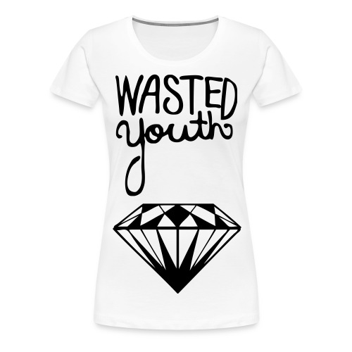 Wasted Youth - Women's Premium T-Shirt