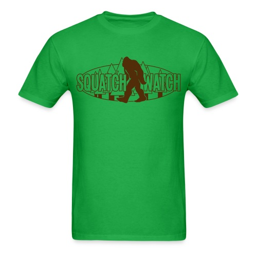 Squatch Watch  - Men's T-Shirt