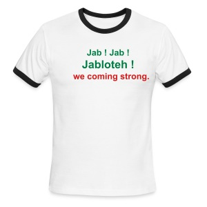 Jabloteh - Men's Ringer T-Shirt