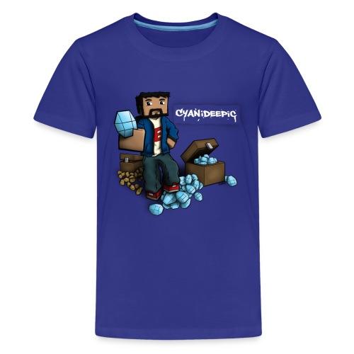 [E] Diamonds & Taters Youth T-Shirts - Kids' Premium T-Shirt