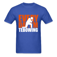 T-Shirts ~ Men's T-Shirt ~ Every Day I'm Tebowing