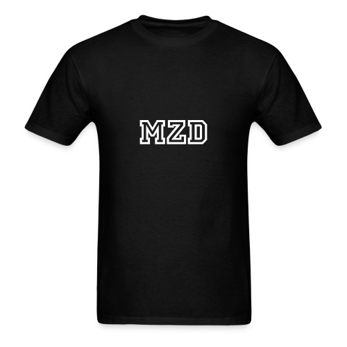 MZD Black and White - Men's T-Shirt