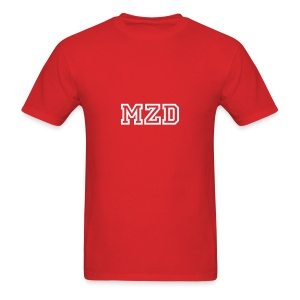 MZD Red and White - Men's T-Shirt