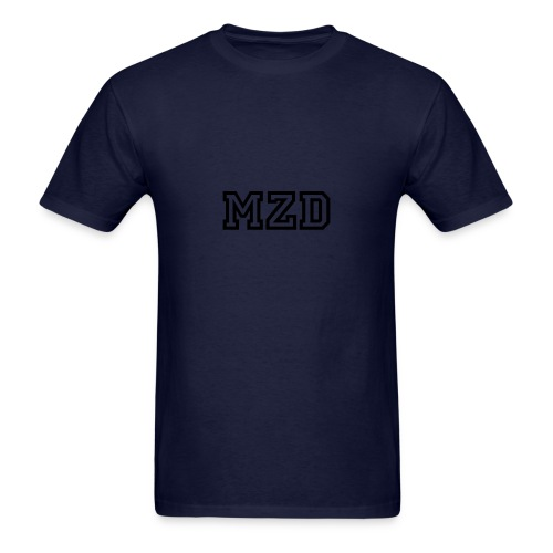 MZD Blue and Black - Men's T-Shirt
