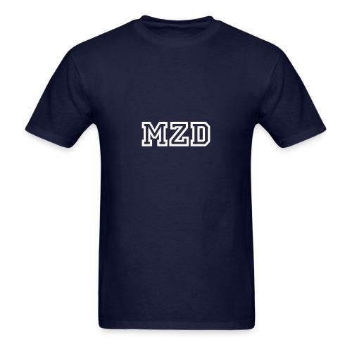 MZD Navy and White - Men's T-Shirt