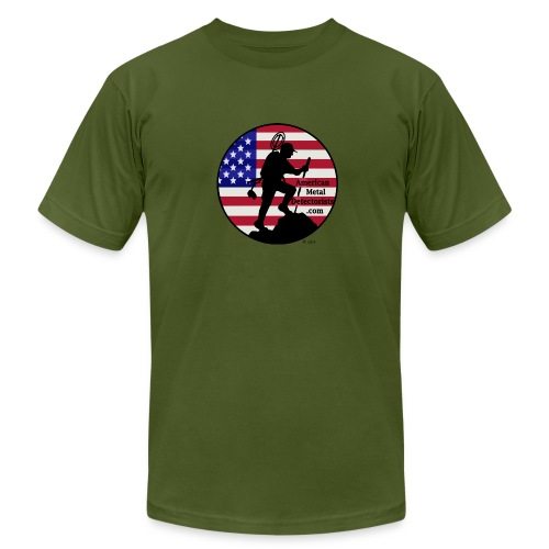 Detectorist  front - Made in USA - Men's Fine Jersey T-Shirt