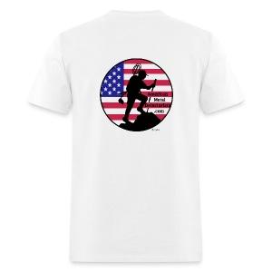 Detectorist back basic - Men's T-Shirt