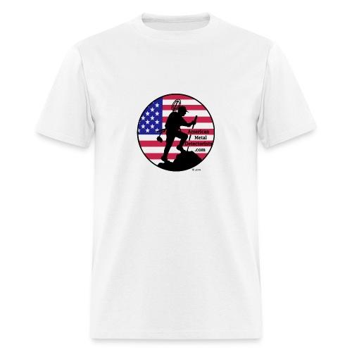 Detectorist front basic - Men's T-Shirt